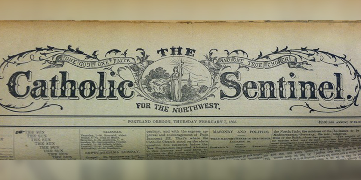 CATHOLIC SENTINEL