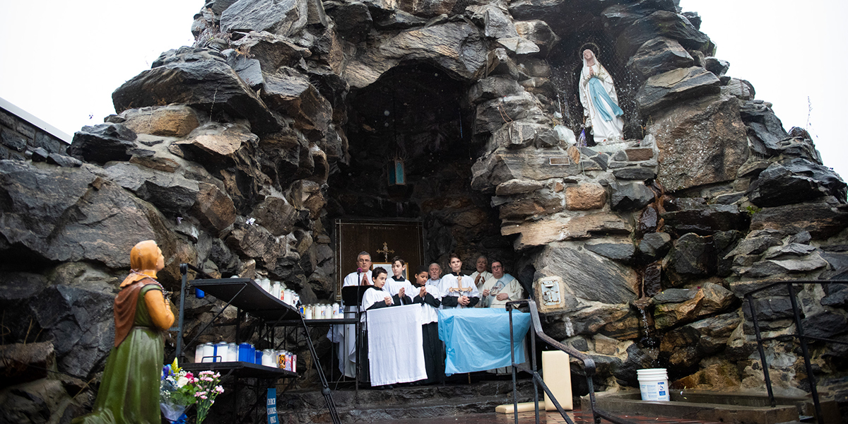 OUR LADY OF LOURDES,BRONX,NEW YORK CITY