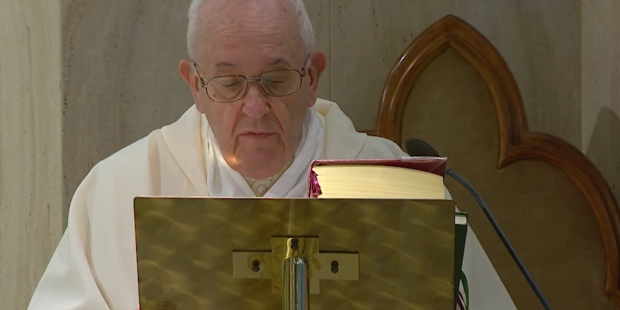 POPE FRANCIS 19 MARS