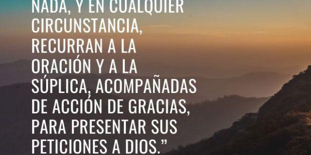 12 citas de la Biblia para encontrar la paz