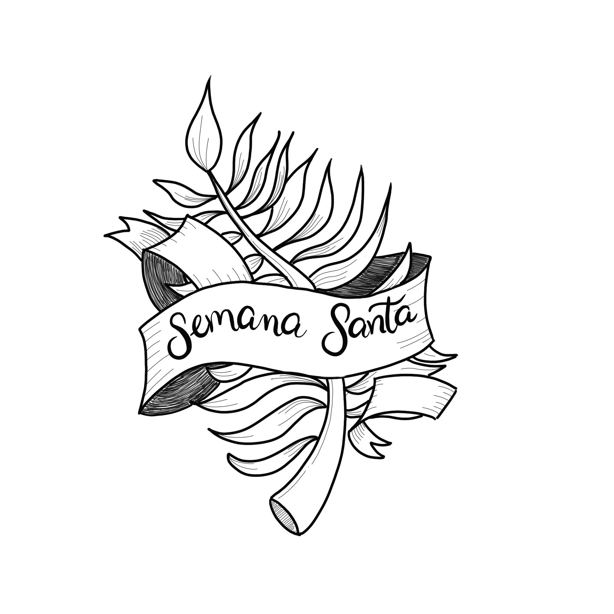 Domingo de Ramos: Pinta y pon una palma en tu ventana