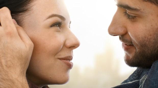 COUPLE, LOVE, SMILE