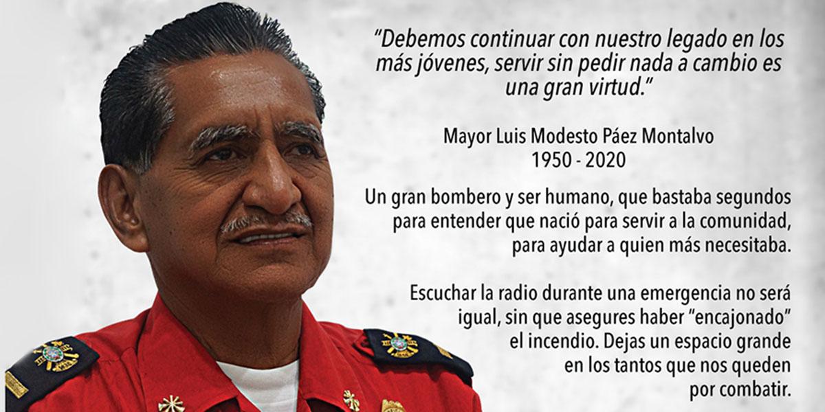 LUIS MODESTO PAEZ MONTALVO