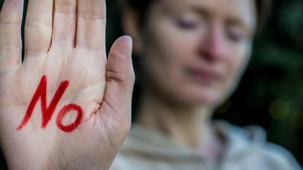 WOMAN, HAND, NO