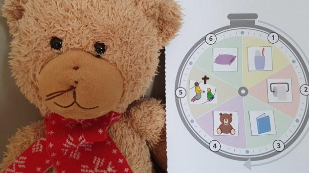 Horloge des routines (Eyrolles)
