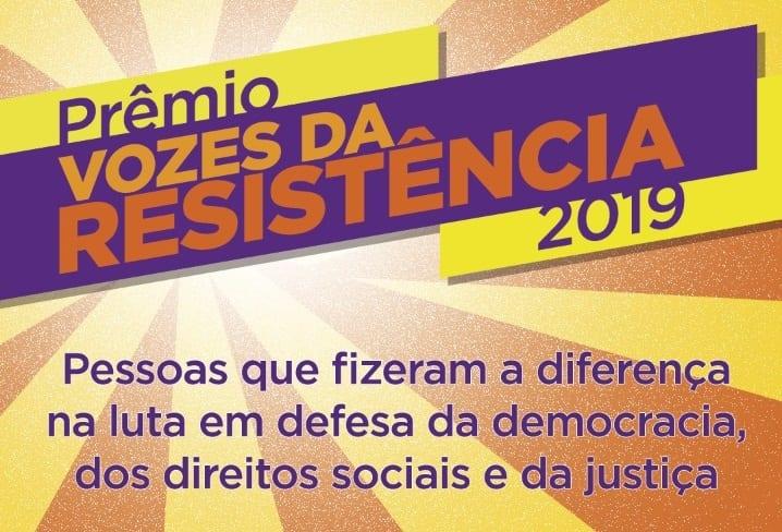 VOZES DA RESISTENCIA