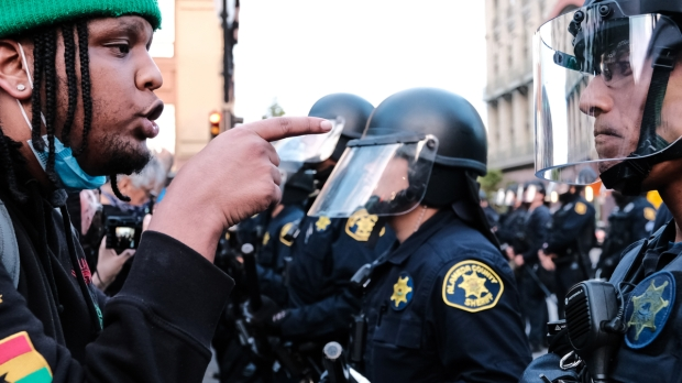 PROTEST, USA, GEORGE FLOYD