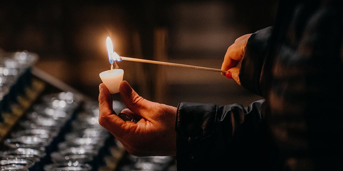 PRAYER CANDLE