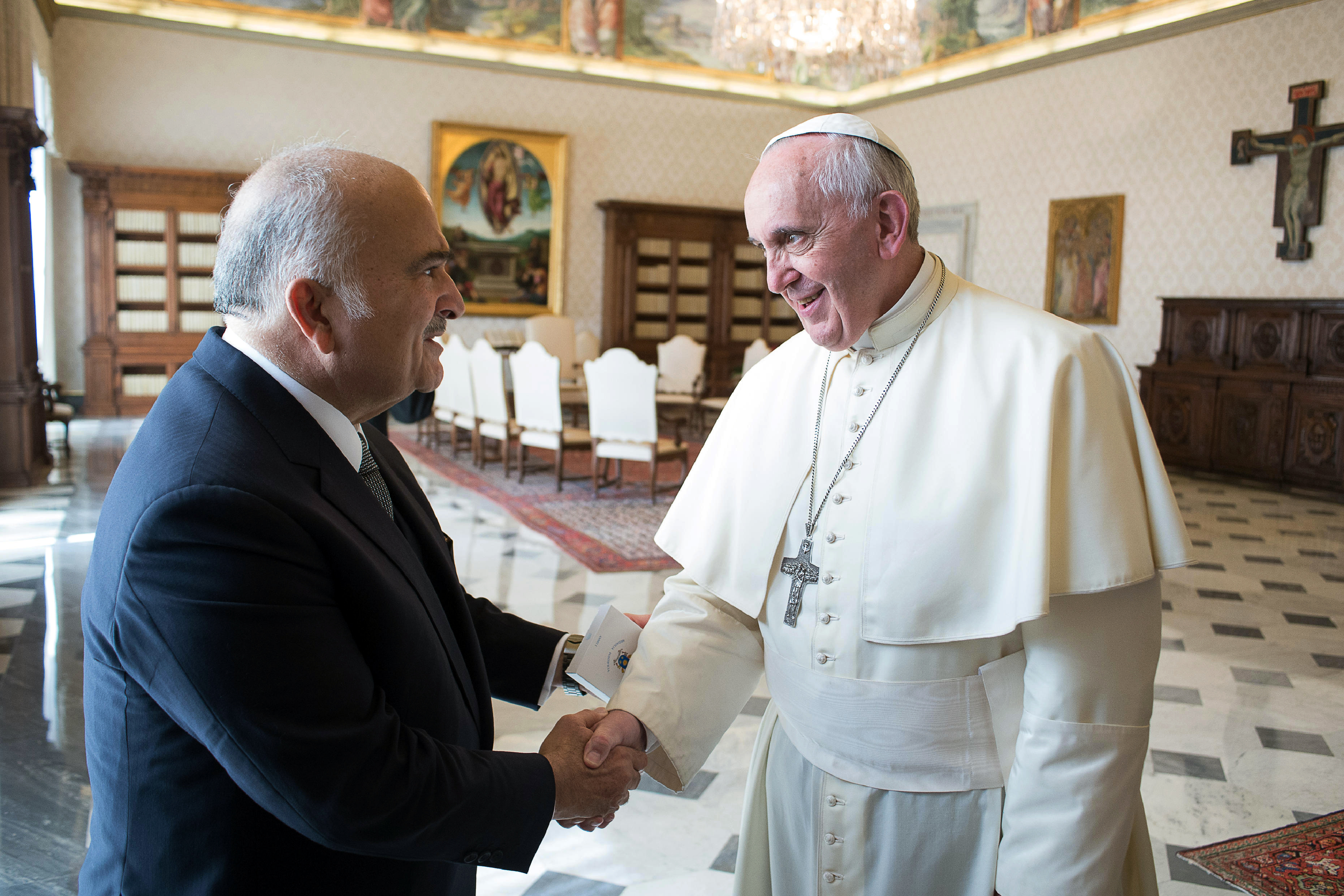 hassan bin talal pope francis