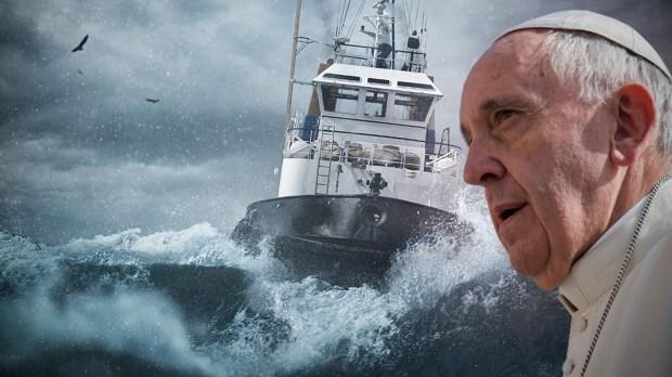 Tormenta Papa Francisco