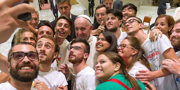 pope francis young people