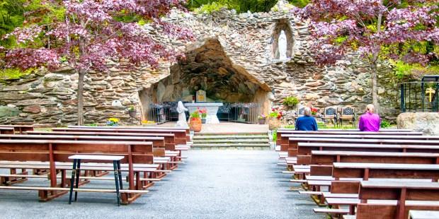 Grotte de Lourdes aux USA