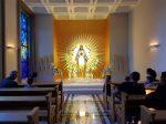 Niepokalanow, chapel Prayer for peace