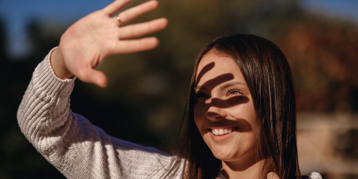 GIRL, SUN, FACE