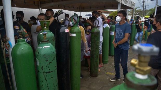 Manaus oxygen