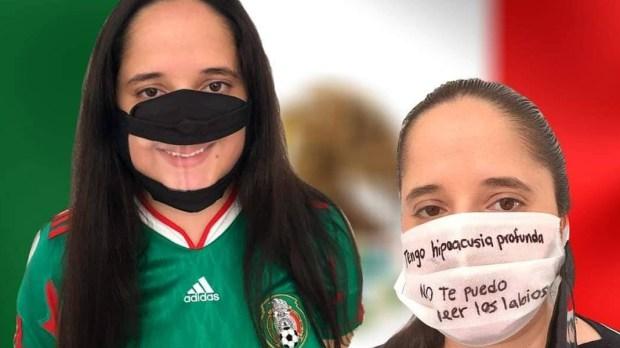 #MéxicoCubrebocasTransparentes