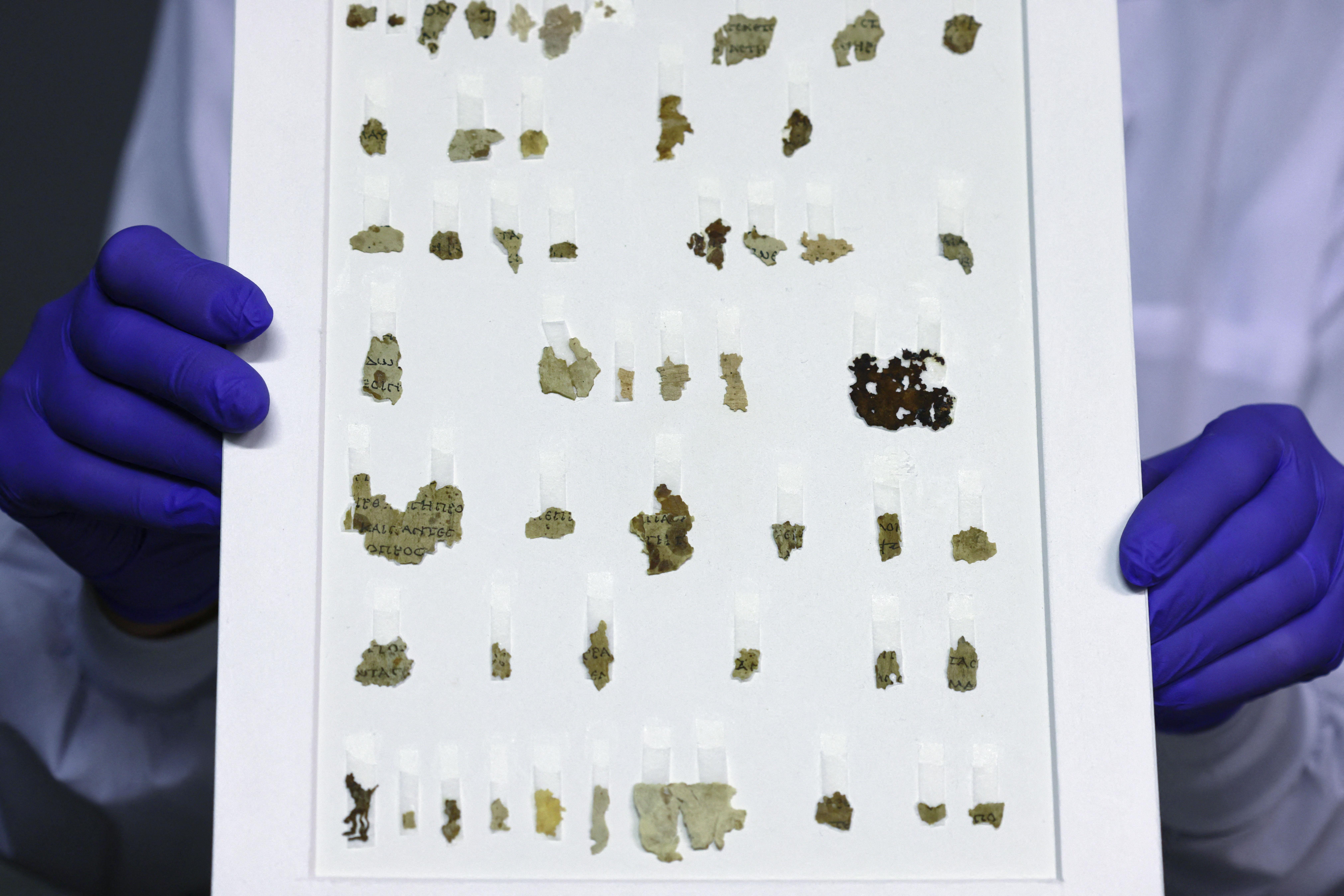 manuscrit bible