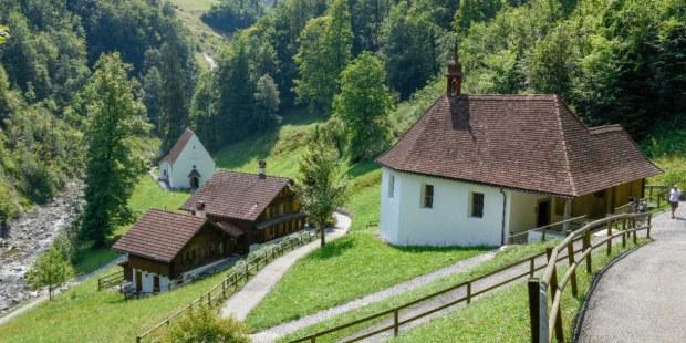 Casa y santuario de san Nicolás de Flüe