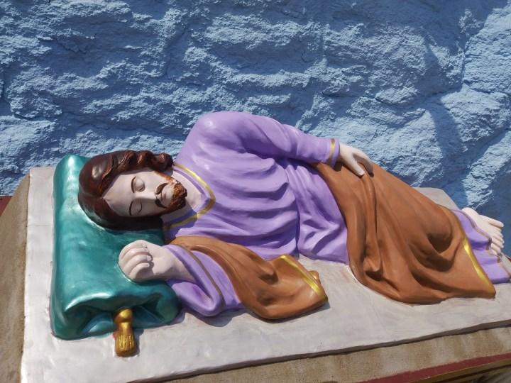SAINT JOSEPH SLEEPING,