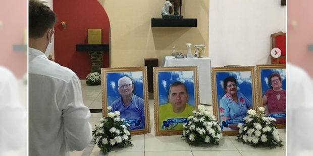 Padre Gilvan Manuel da Silva perde pais e irmãos para covid-19