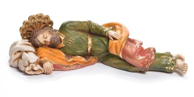 San José durmiendo, el santo protector del Papa Francisco