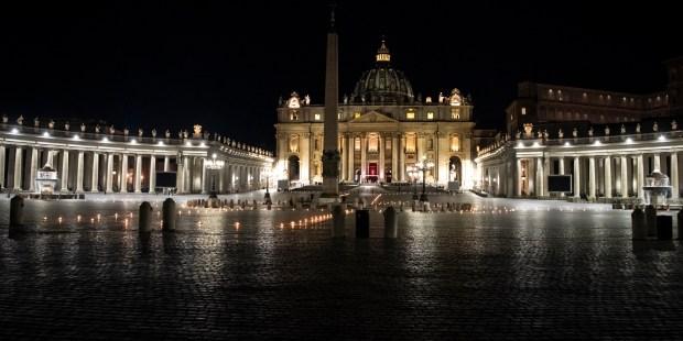 Via Crucis del Papa Francisco 2021