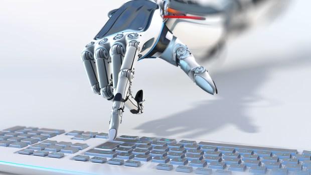 main de robot