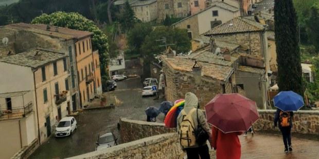 Celleno, una de las tantas ciudades fantasma de Italia