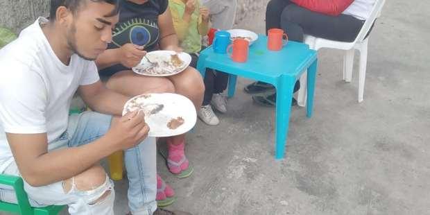 Casa de acogida de Carmen en Ecuador