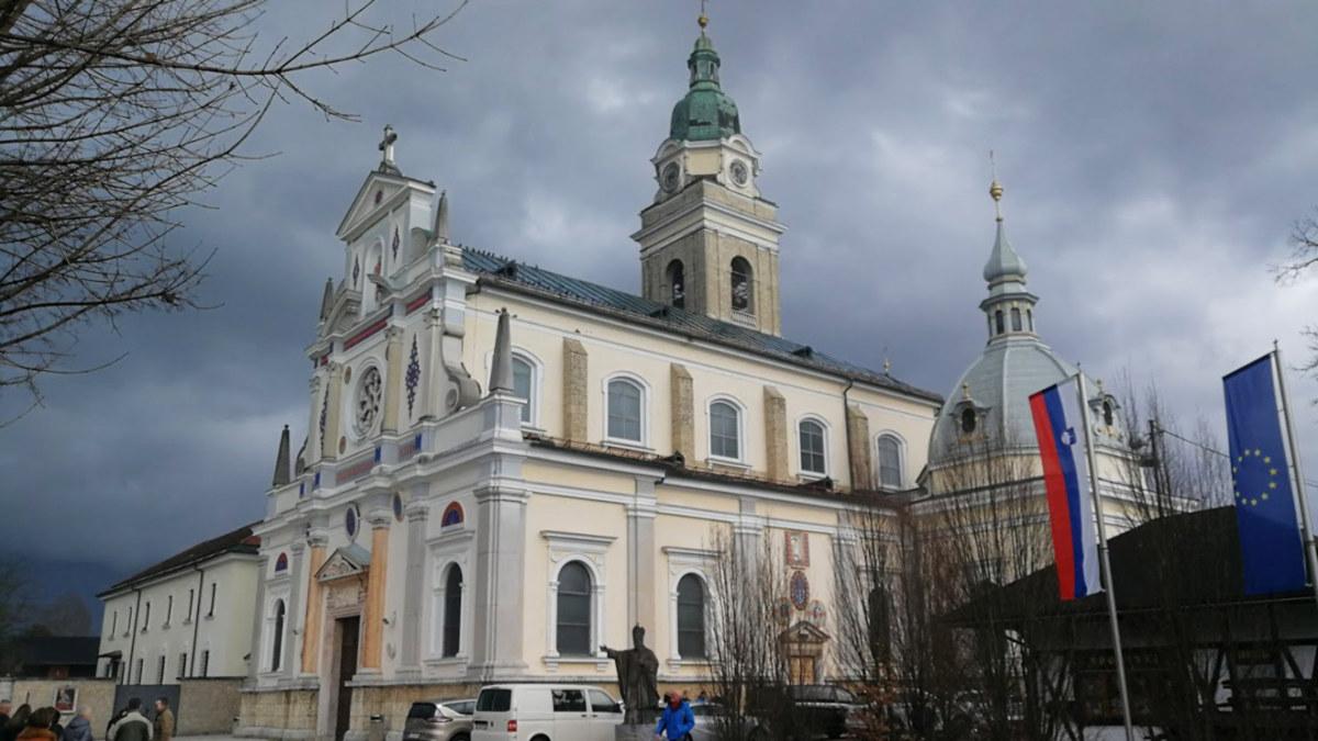 Santuario mariano de Brezje