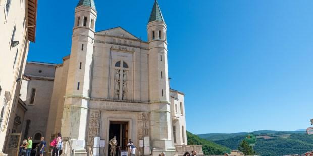 Los lugares santos que testimonian la vida de Santa Rita en Casia