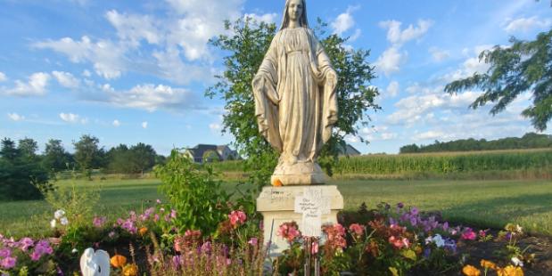 Mary garden contest / concours du plus beau jardin marial 1