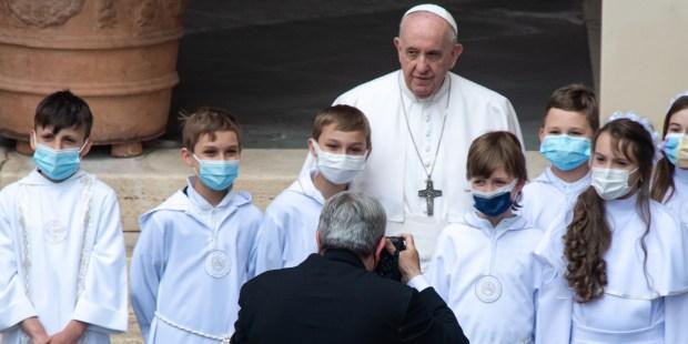 Audiencia del Papa (2 de junio de 2021)