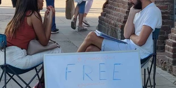 The Free Conversations Movement, conversaciones gratis
