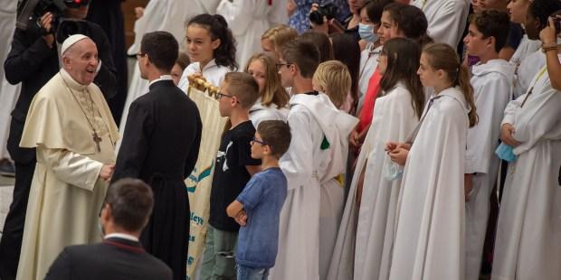Audiencia del Papa 25 de agosto