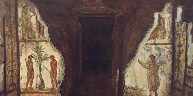Catacumbas de san Marcelino y san Pedro, una joya de la Roma cristiana