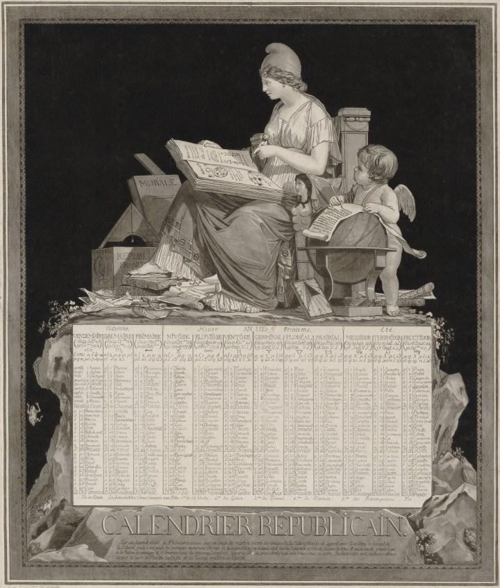calendario revolucionario Francia