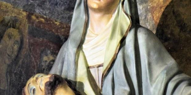 Las imágenes más importantes en Italia de la Virgen María en lágrimas