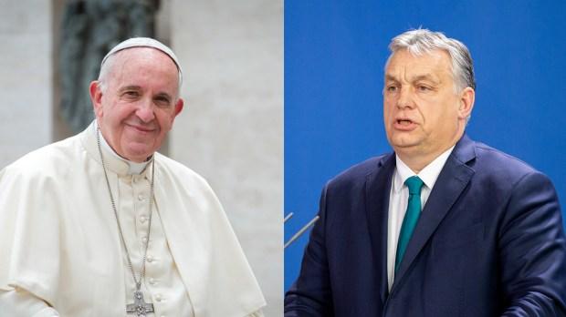 POPE FRANCIS - VIKTOR ORBAN