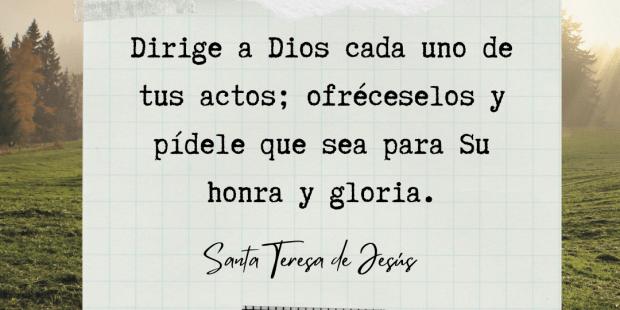 11 consejos de santa Teresa para una vida de oración